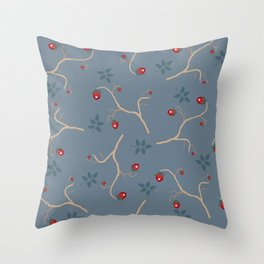 Ma Berry Throw Pillow