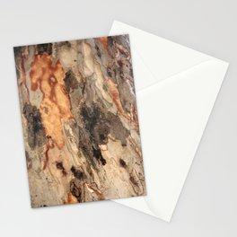 Exfoliating Flakes Of Eucalyptus Tree Bark Stationery Cards