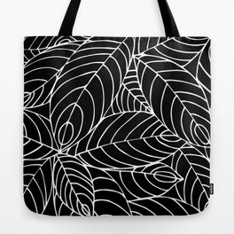 malaysian leaves Tote Bag