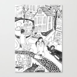 Locals Only – Helsinki Canvas Print