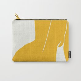 Nude in yellow Carry-All Pouch