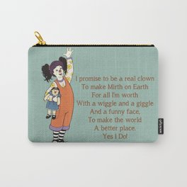 Clown Promise - The Big Comfy Couch Carry-All Pouch