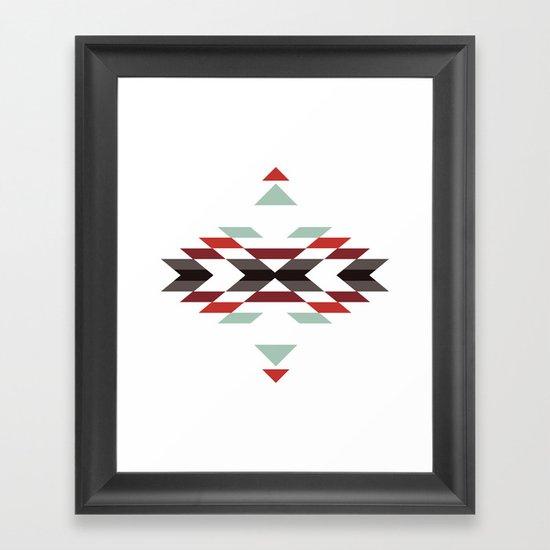 NAVAJO PRINT Framed Art Print