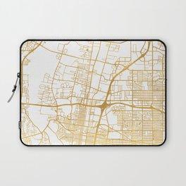 ALBUQUERQUE NEW MEXICO CITY STREET MAP ART Laptop Sleeve