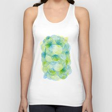 Space lime Unisex Tank Top