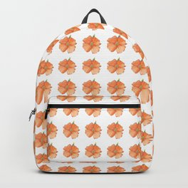 Golden Poppies Pattern Backpack