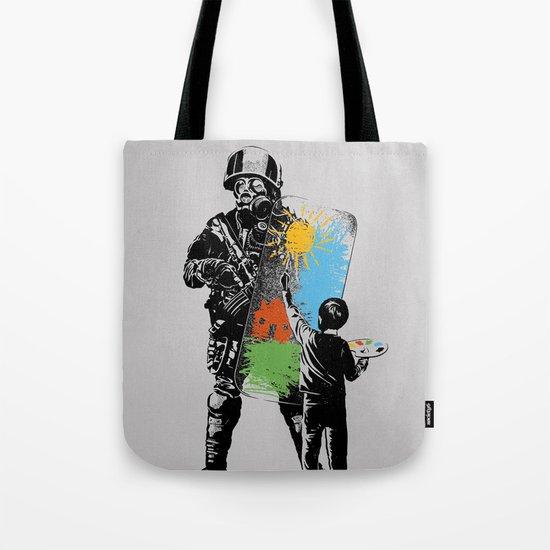 Turmoil Paint Tote Bag