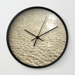 Beach - Waves Wall Clock