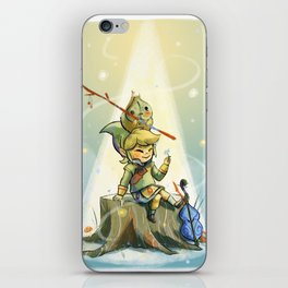 Forest Aria iPhone Skin