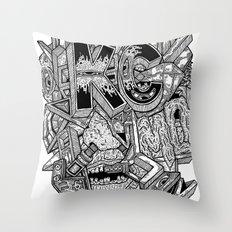 Geometric Mutations: Kansas City, MO Throw Pillow
