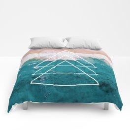 Beach Arrow / Geometric Comforters