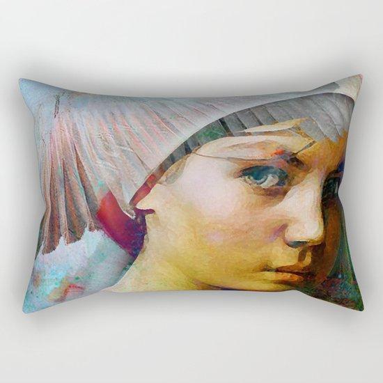 Memory of your look  Rectangular Pillow