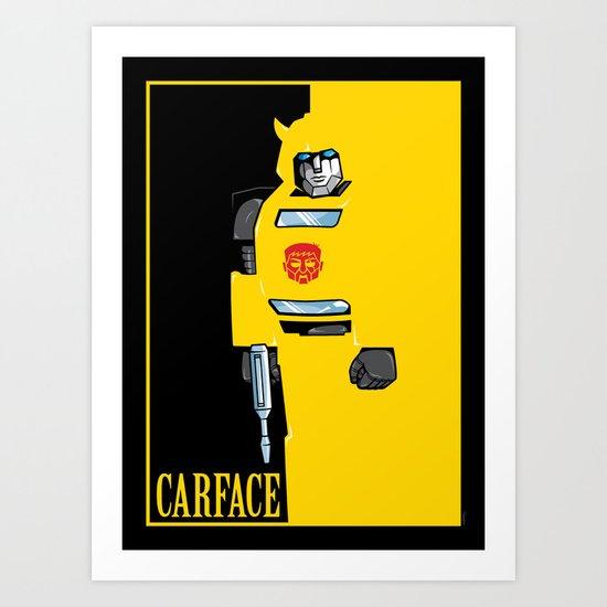 Carface Art Print