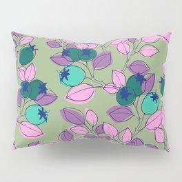 Purple Rosehips Pillow Sham
