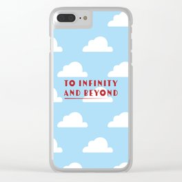 To Infinity and Beyond - Toy Story Clear iPhone Case