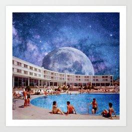 Summer in Space Art Print