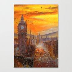 London Evening Canvas Print