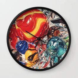 Red Giant Wall Clock