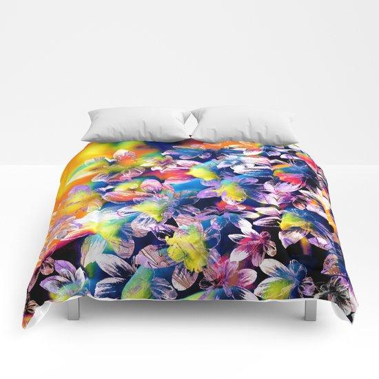 Flower carpet(23). Comforters