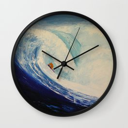 OXYGENE Wall Clock