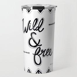 Wild & Free Travel Mug