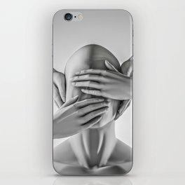 Speak no evil iPhone Skin