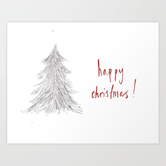 Happy Christmas! #4 Art Print