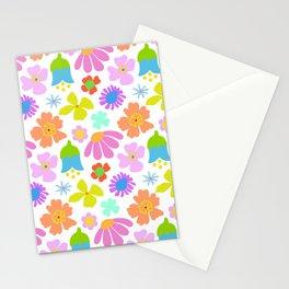 Mod Scandinavian Floral Stationery Cards