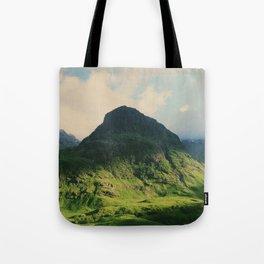 Mountain in Glencoe, Scotland Tote Bag