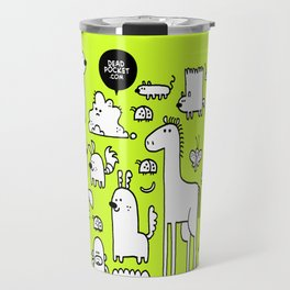 All the Beasts, Imagined and Real Travel Mug