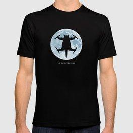 THE CATCOPTER - Humor | Meme | Cat | Internet | Funny | Animal | Bizzarre | Moon  T-shirt