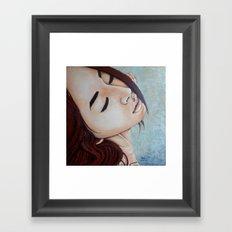 Goodbye(painting) Framed Art Print