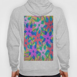 Tropical Rain Flowers Hoody