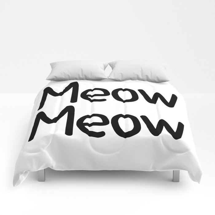 Meow Meow Comforters