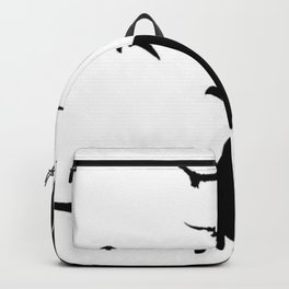 ORIGINAL DESIGN OF FLYING BLACK EAGLES ART Backpack