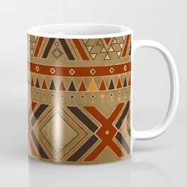 Aztec Ethnic Pattern Art N8 Coffee Mug
