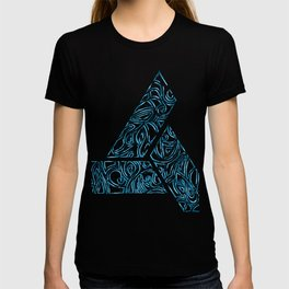 Blue Tribal T-shirt