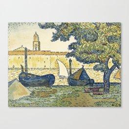 Saint-Tropez Paul Signac (1863 - 1935) Canvas Print