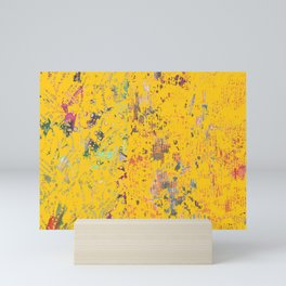Bohemian Yellow Mini Art Print