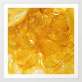 Macro diamond sauce Art Print