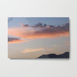 mountain sunset - telluride, CO Metal Print