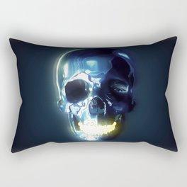 Metallic skull Rectangular Pillow