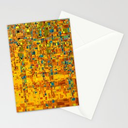 Abstract Klimt Stationery Cards