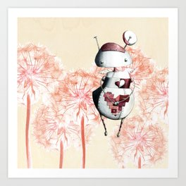Eros the Lovebot Art Print