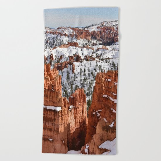 Bryce Canyon - Sunset Point II Beach Towel