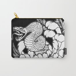 Snake Chrysanthemum Carry-All Pouch