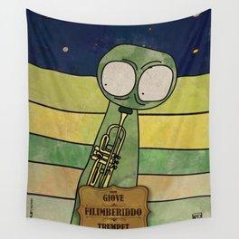 Filiberiddo from Jupiter (Trumpet) Wall Tapestry