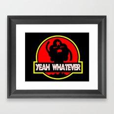 Adventure Time: Yeah, whatever: Jurassic LSP Framed Art Print