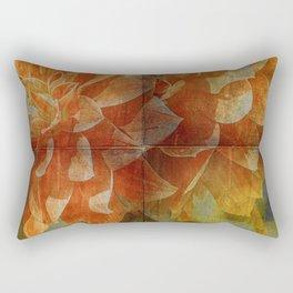 Dahlia Art Rectangular Pillow