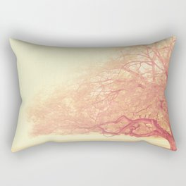 tree. That Was Just a Dream. pink tree photograph Rectangular Pillow